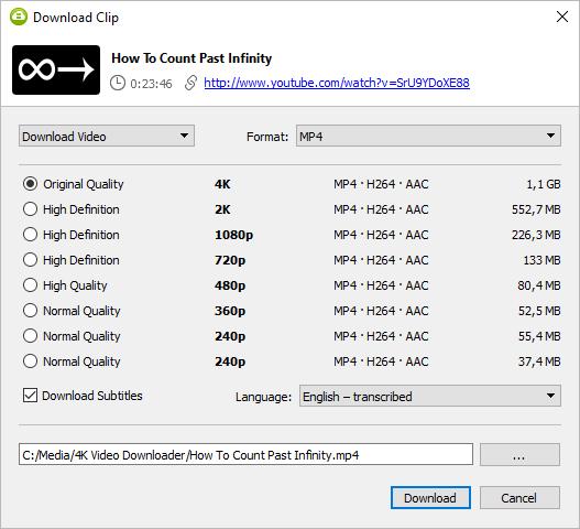 4k Video Downloader 4.12.3.3420 crack & key free download 2020
