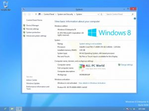 Windows 8 Enterprise Crack With Activation Key Free Download