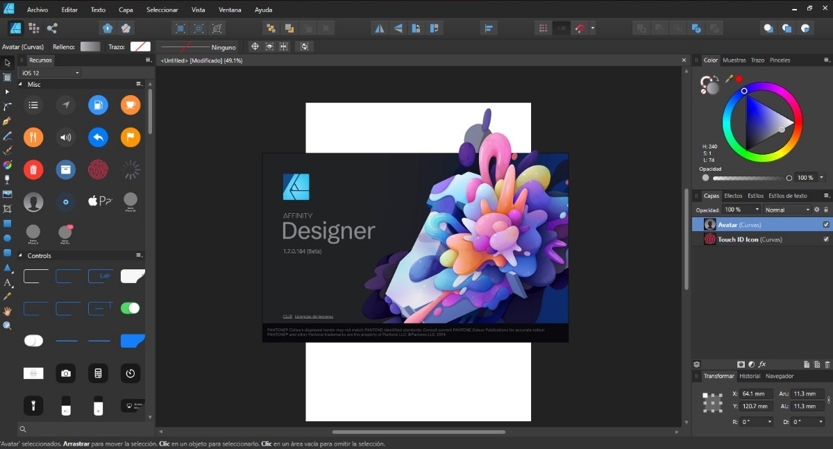 Serif Affinity Designer 1.8.1.595 Beta Serial Key | Crack Free 2020