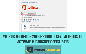Microsoft Office 2016 Product Key Crack With Product Key Free Download