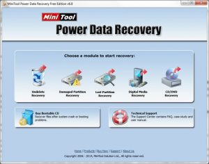 MiniTool Power Data Recovery 8.8 Crack With Product Key Free Download